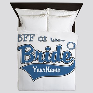 BFF of the Bride Queen Duvet
