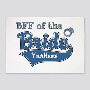 BFF of the Bride 5'x7'Area Rug