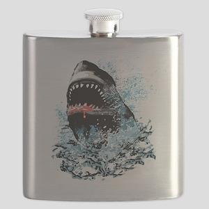Awesome Shark Art! Flask