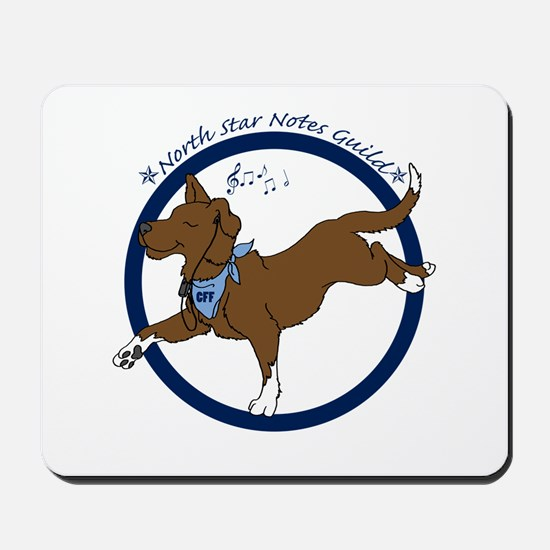 North Star Notes Guild Mousepad