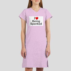 Being Spanked Women's Nightshirt