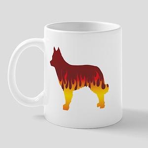 Mudi Flames Mug
