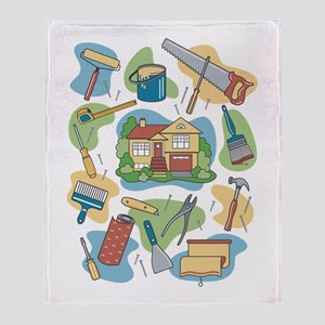 Home Improvement Throw Blanket
