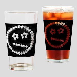 frump can art fun Drinking Glass