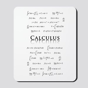 Calculus Equations Mousepad