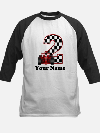 2nd Birthday Race Car Baseball Jersey