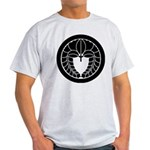 Hanging wisteria in circle Light T-Shirt