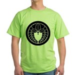 Hanging wisteria in circle Green T-Shirt