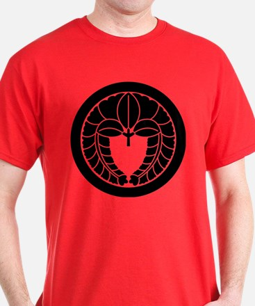 Hanging wisteria in circle T-Shirt