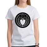 Hanging wisteria in circle Women's T-Shirt