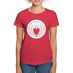 Hanging wisteria in circle Women's Dark T-Shirt
