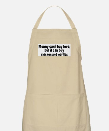chicken and waffles (money) BBQ Apron