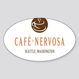 Café Nervosa Sticker
