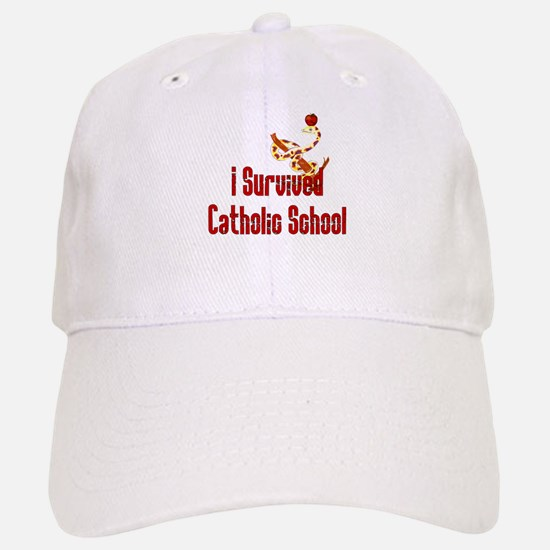 Catholic School Survivor Baseball Baseball Cap