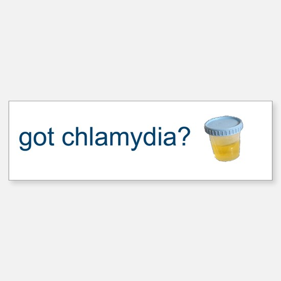 Got Chlamydia? Sticker (Bumper)