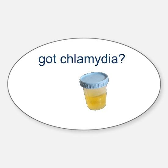 Got Chlamydia? Sticker (Oval)