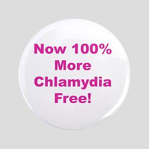 "Chlamydia Free 3.5"" Button"