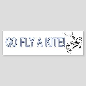 Go Fly A Kite! Bumper Sticker