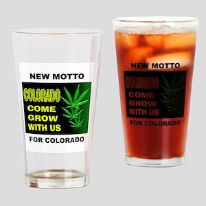 COLORADO GROWTH Drinking Glass