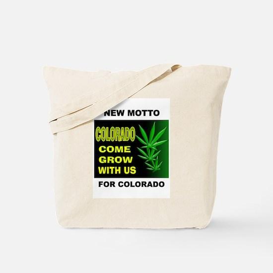 COLORADO GROWTH Tote Bag