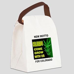 COLORADO GROWTH Canvas Lunch Bag