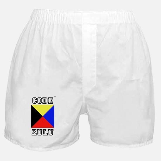 Cute Code zulu Boxer Shorts