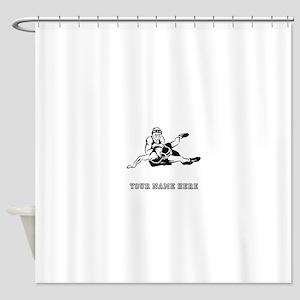 Custom Wrestling Shower Curtain
