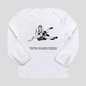 Custom Wrestling Long Sleeve T-Shirt