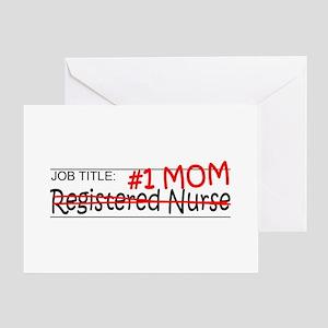 Job Mom RN Greeting Card