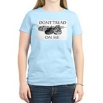 """""""Don't Tread On Me""""/Vote Libertarian"""" Woman's T"""