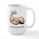 Bicep Large Mugs (15 oz)