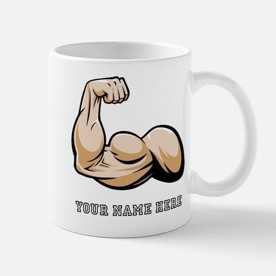 Custom Bicep Flex Mugs