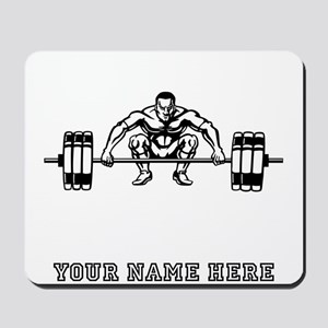 Custom Dead Lift Mousepad