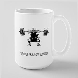 Custom Powerlifter Mugs