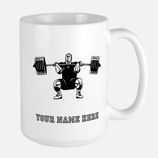 Custom Powerlifter Mugs