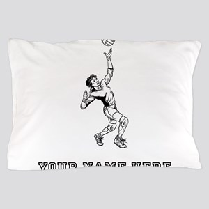 Custom Volleyball Serve Pillow Case