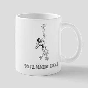 Custom Volleyball Serve Mugs