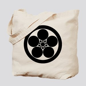 Umebachi-style plum blossom in circle Tote Bag