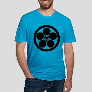 Umebachi-style plum bl Men's Fitted T-Shirt (dark)