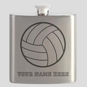 Custom Volleyball Flask