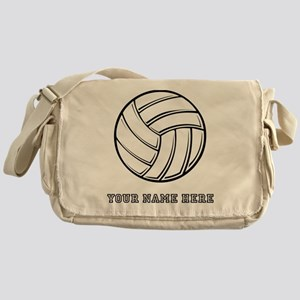 Custom Volleyball Messenger Bag