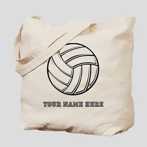 Custom Volleyball Tote Bag