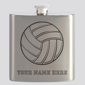 Custom Volleyball Flask