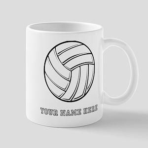 Custom Volleyball Mugs