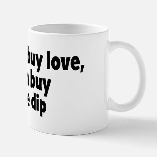 artichoke dip (money) Mug