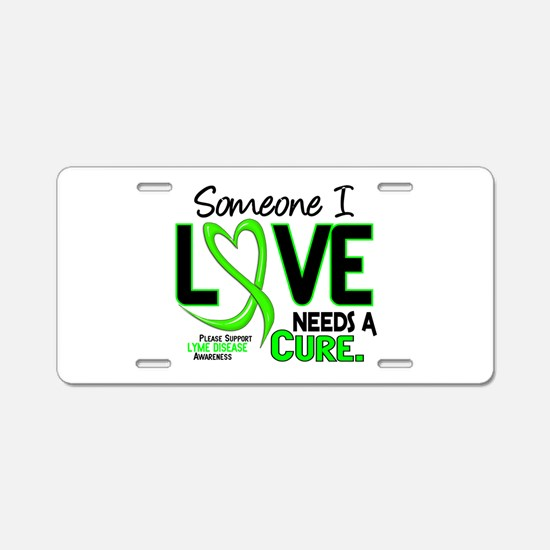 Lyme Disease Needs a Cure 2 Aluminum License Plate