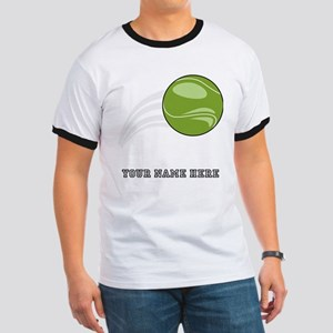 Custom Flying Tennis Ball T-Shirt
