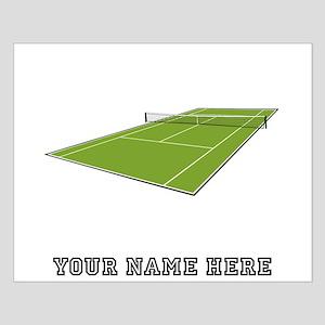 Custom Tennis Court Posters