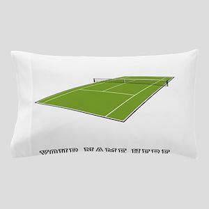 Custom Tennis Court Pillow Case