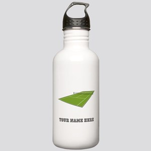 Custom Tennis Court Water Bottle
